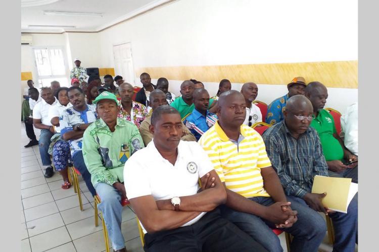 5e arrondissement de Libreville : Le discours du chef de l'État au centre de la rencontre