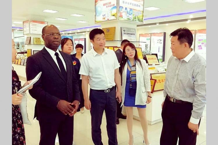 Agriculture : Le géant chinois Jinyimeng Group prêt à investir dans le manioc