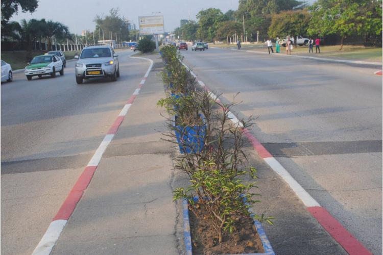 Pavoisement du boulevard Triomphal à Libreville : Au-delà de l'embellissement…