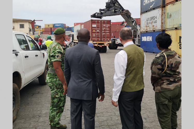Scandale du Kévazingo : Les conteneurs mis sous scellés vont être vendus