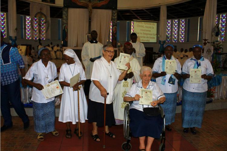 Religion/Jubilé : Six jubilaires congratulées