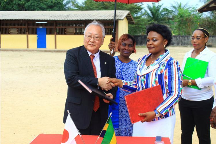 Coopération nippo-gabonaise : Signature d'un contrat pour la construction et l'équipement d'un bâtiment