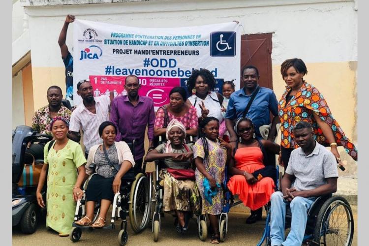 Intégration des personnes en situation de handicap : Les encouragements de la Bad à l'ONG Malachie