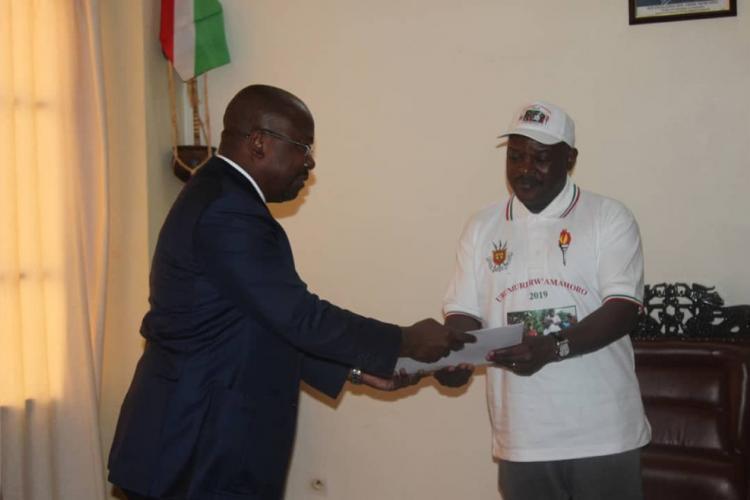 CEEAC/Processus de réformes : Le chef de la diplomatie gabonaise chez Pierre Nkurunzinza