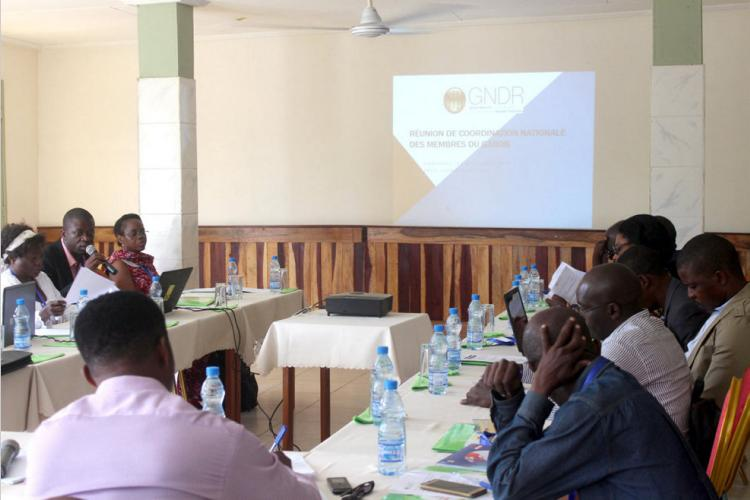 Société civile : Mise en place d'une coordination nationale