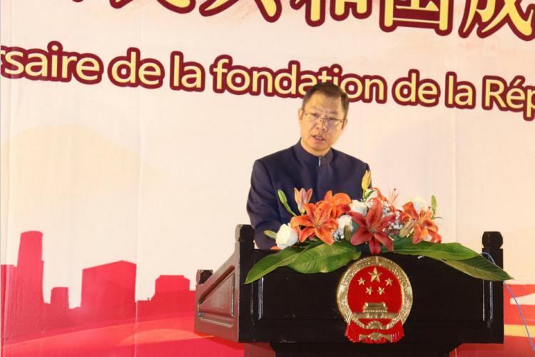 """Les 70 ans de la fondation de la République populaire de Chine : Pékin sur sa ligne:                                              """"L'égalité, la fraternité, la sincérité et le gagnant-gagnant"""""""