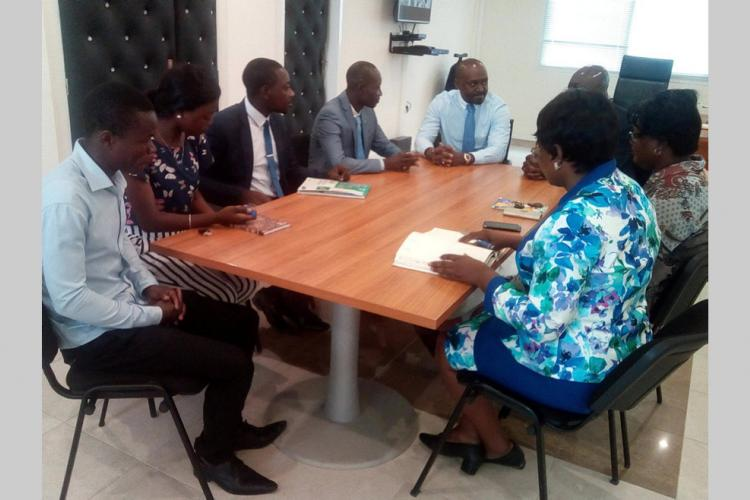 Allocation d'études/Rencontre ANBG-CNJ : Le Conseil national de la jeunesse désormais mieux édifié