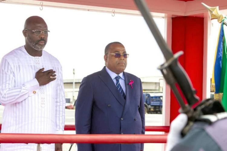 Coopération Gabon-Liberia : George Weahen terre gabonaise depuis hier