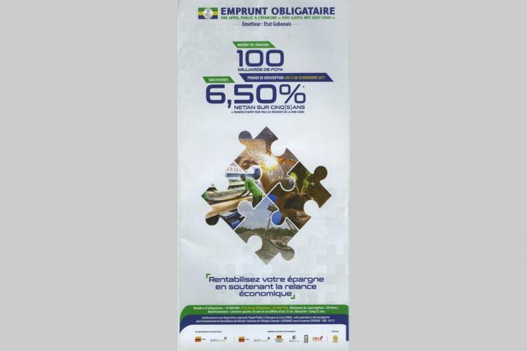 Marché international : Emprunt obligataire: la signature du Gabon reste intacte