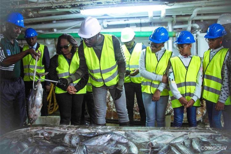 Thon : 1250 tonnes transbordées à Owendo