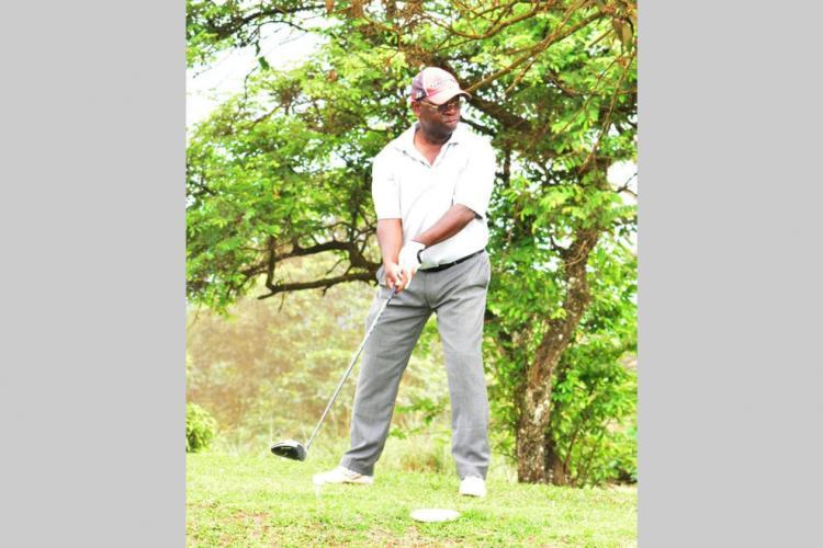 Golf : Basile Julo Engogo à l'Open de Turkish Airlines