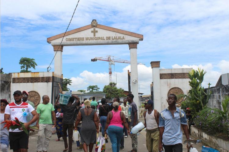 Toussaint : Cimetières de Librevile: des saturations reportées
