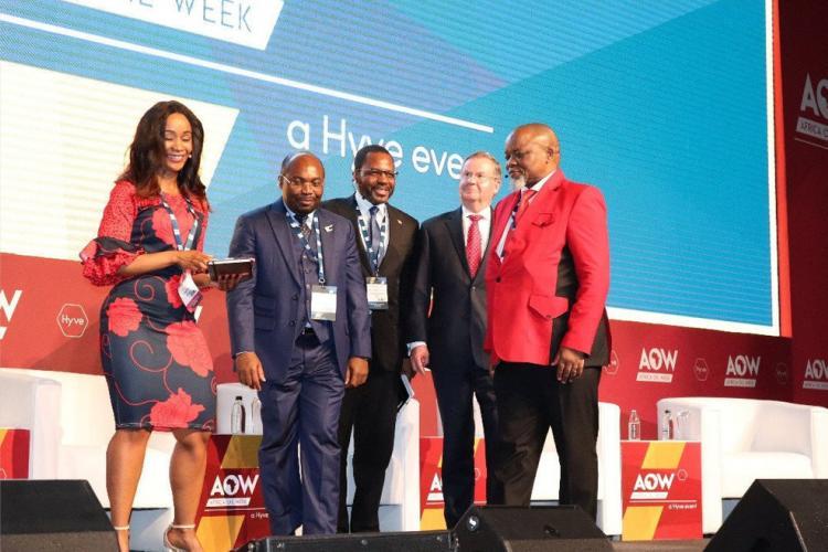 """AOW : Noël Mboumba en """"VRP"""" à Cape Town"""