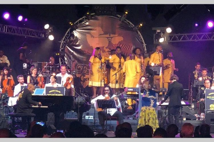 """Spectacle : Dans les douceurs du """"Frédéric Gassita & African Queen Singers"""""""