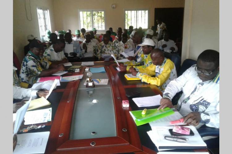 PDG : Echanges fructueux entre ''camarades'' de Mouila