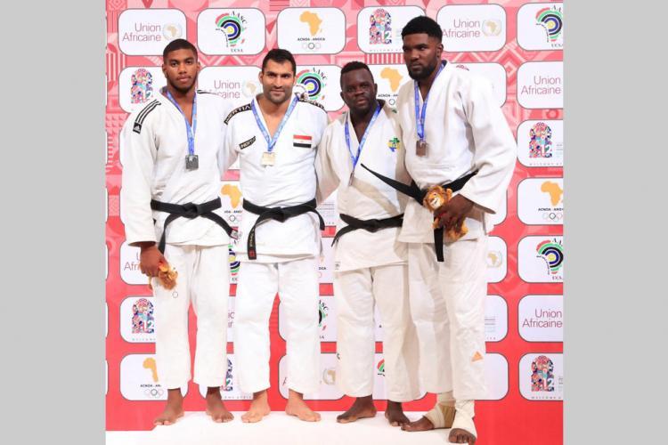 Judo : De l'argent et du bronze pour le Gabon à l'Open de Dakar