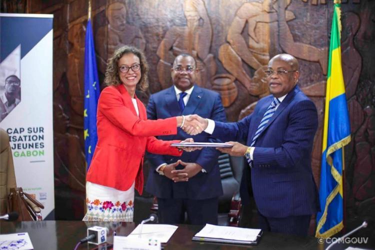 Gabon-UE : Signature d'une convention de financement