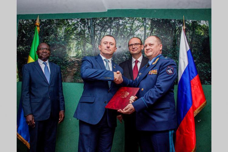 Braconnage : Le soutien de la Russie au Gabon
