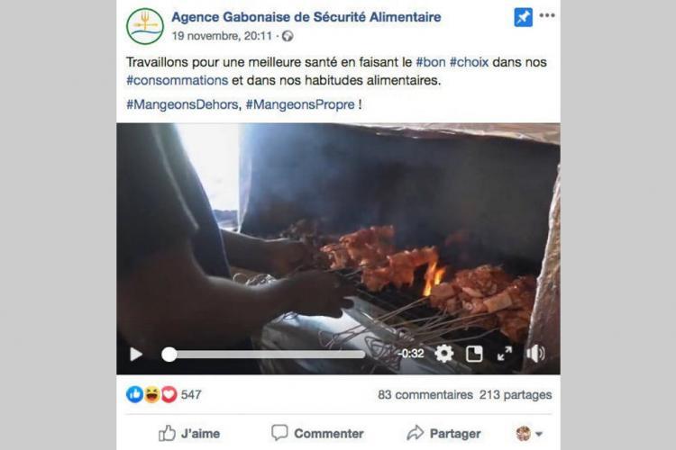 """Hygiène : """"Attention manger"""" sensibilise à la restauration de rue"""
