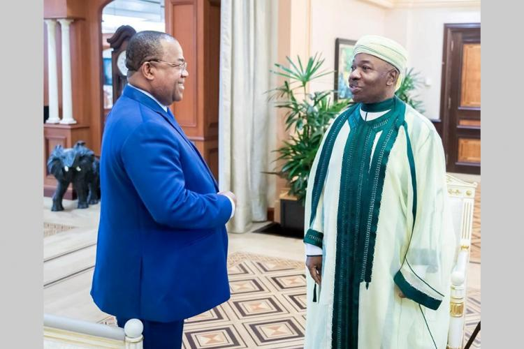 Activités présidentielles : Ali Bongo Ondimba préoccupé par la situation des sinistrés