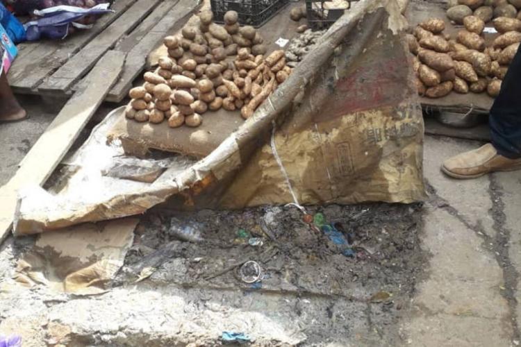 Sécurité alimentaire : Marchés par terre, attention danger !