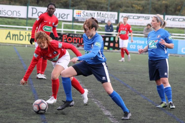 Coupe de France féminine : Winie Mapangou continue l'aventure