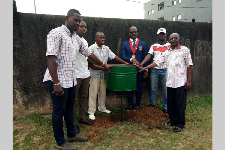 Insalubrité : Des poubelles pour l'école de Dragages