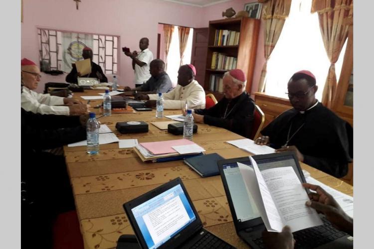 Conclave : Les évêques du Gabon à Libreville