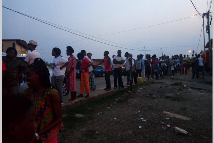 Accès à Edan : De longues files d'attente à Libreville