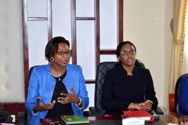 Climat des affaires : Carmen Ndaot sollicite l'appui du ministère de la Justice