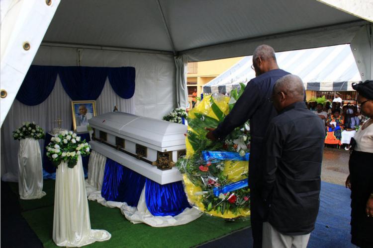 UOB : L'adieu au Dr Marius Emmanuel Indjieley