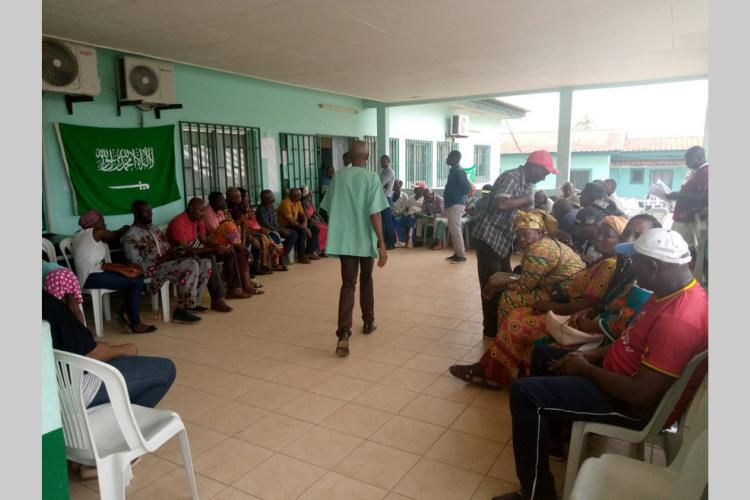 Caravane ophtalmologique de Melen : Plus de 3000 malades auscultés