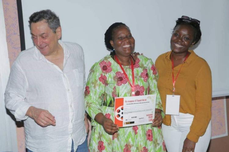 """Cinéma : Pauline Mvele, prix du meilleur projet au """"Yaoundé Lab Film"""""""