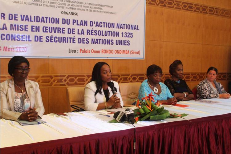 Résolution 1325 de l'Onu : Le Gabon doté d'un plan d'action