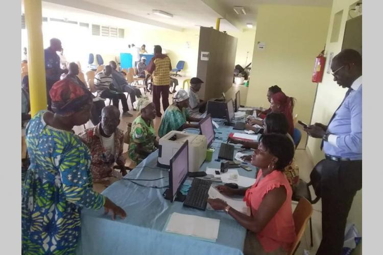 Biométrie : Le recensement reporté à une date ultérieure