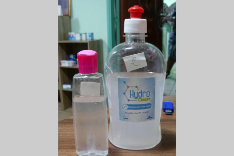 Fausses solutions hydroalcooliques : Démantèlement d'un réseau de production