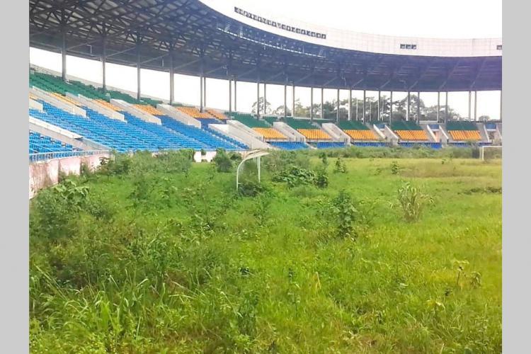 Stade d'Oyem : 800millions de francs par an pour son entretien