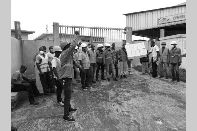 Port d'Owendo : les dockers veulent la revalorisation de leur métier