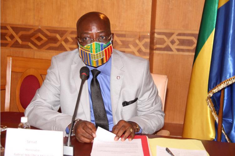 Sénat : le député Malonga Mouelet défend les modifications de la loi relatives à la profession d'avocat