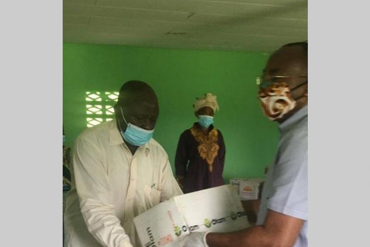 Aboumi : l'aide de Noureddin Bongo Valentin arrive à bon port
