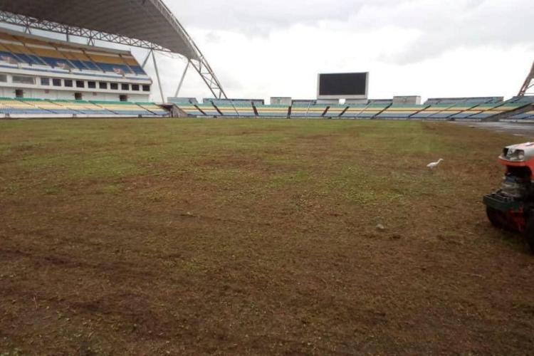 Infrastructure : début des travaux au stade de l'Amitié d'Angondjé