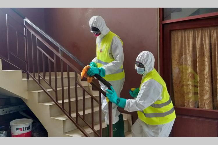 Santé : Vaste désinfection des sites clés d'Owendo
