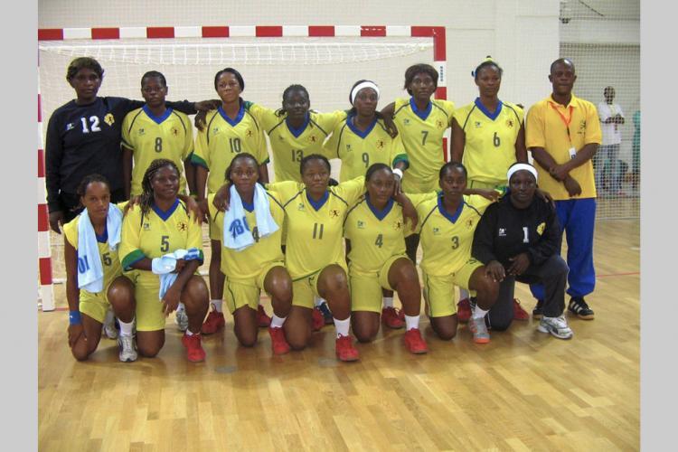 Handball féminin gabonais : dans la pénombre