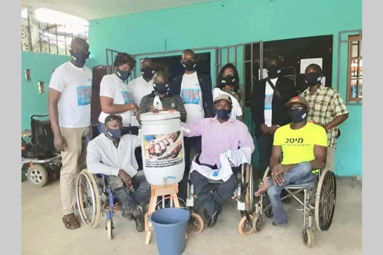 Handicap : des masques et des lave-mains offerts