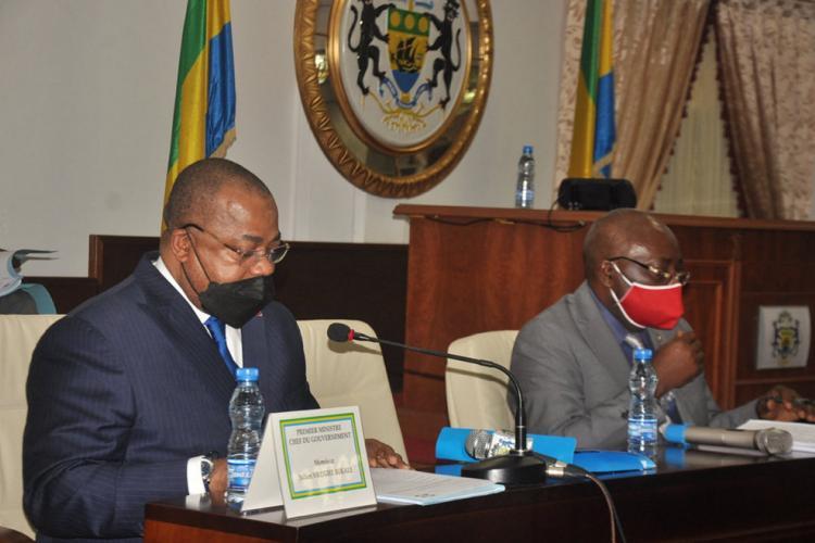 Code pénal : Julien Nkoghe Bekale devant les députés