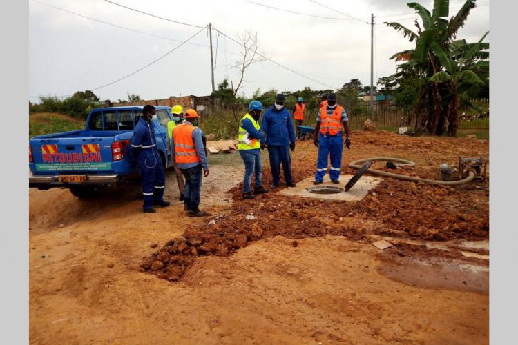 Desserte d'eau dans le Grand Libreville : le plan d'urgence de la SEEG