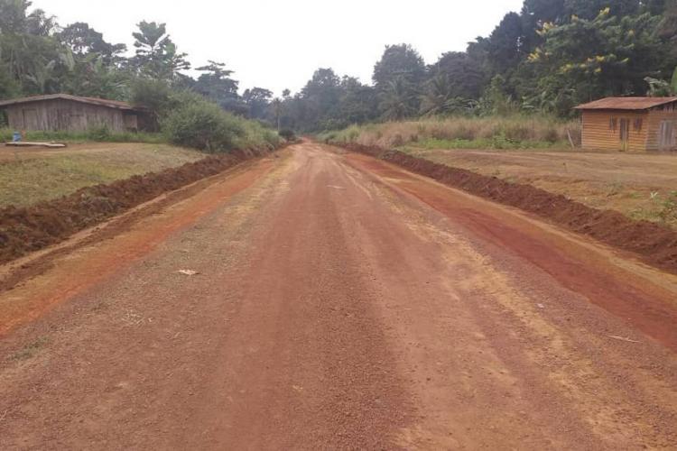 Route Mitzic-Sam : un chantier qui suscite l'espoir des usagers