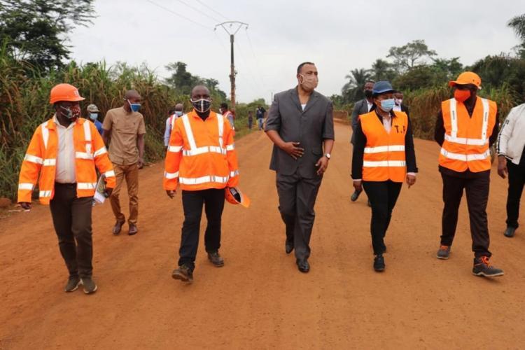 Ntoum-Cocobeach : les travaux vont bon train