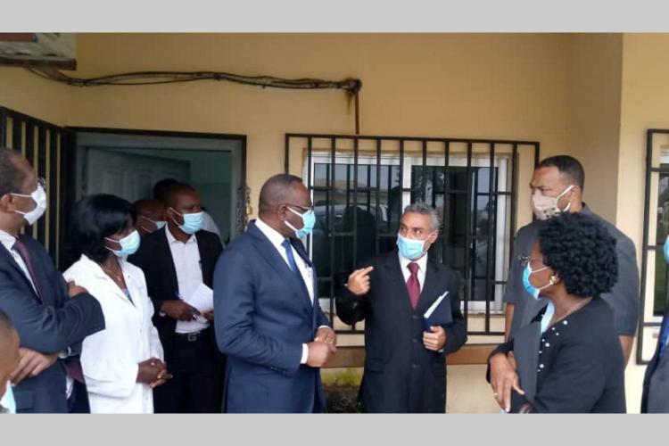 Santé : les travaux du centre médical de Ntoum réalisés à 80%