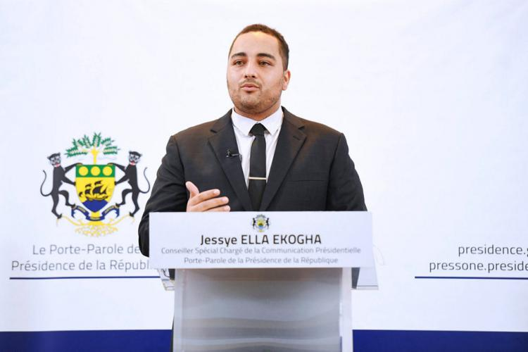 """Agenda présidentiel : Jessye Ella Ekogha : """"Le chef de l'État n'est pas en vacances en Europe"""""""